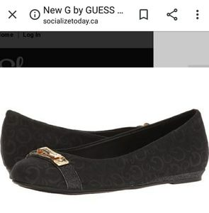 G by Guess Black Ballet Flats NEW IN BOX!